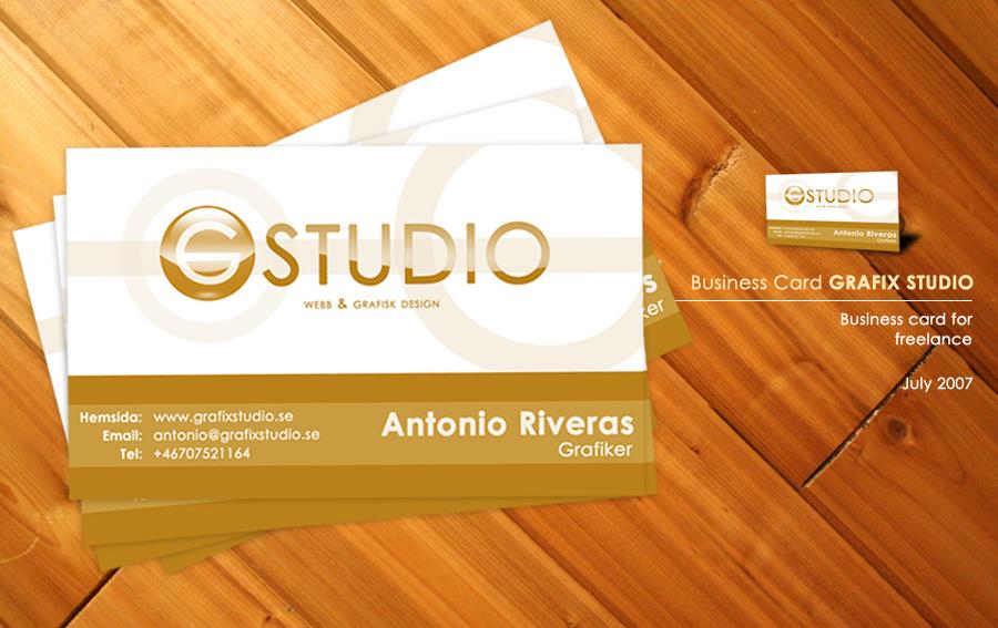 GRAFIX STUDIO Business Card | Stationery STYLE